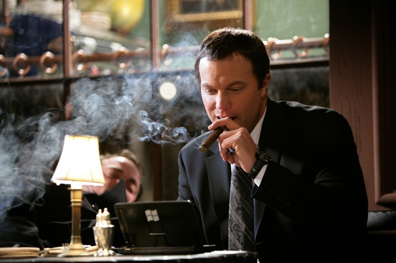 John Casey (Adam Baldwin) in una scena dell'episodio Chuck Versus the Other Guy