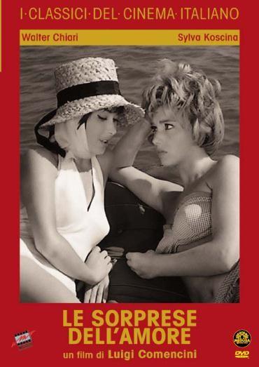 La copertina di Le sorprese dell'amore (dvd)