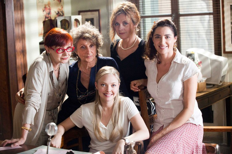 Milena Vukotic, Lidia Biondi, Amanda Bynes, Marina Massironi e Luisa Ranieri per il film Letters to Juliet
