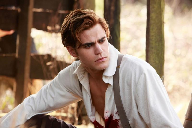 Stefan (Paul Wesley) nel lontano 1864 in: Blood Brothers di The Vampire Diaries