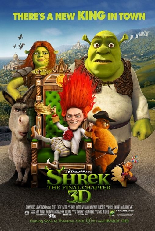 Ancora un nuovo poster per Shrek Forever After