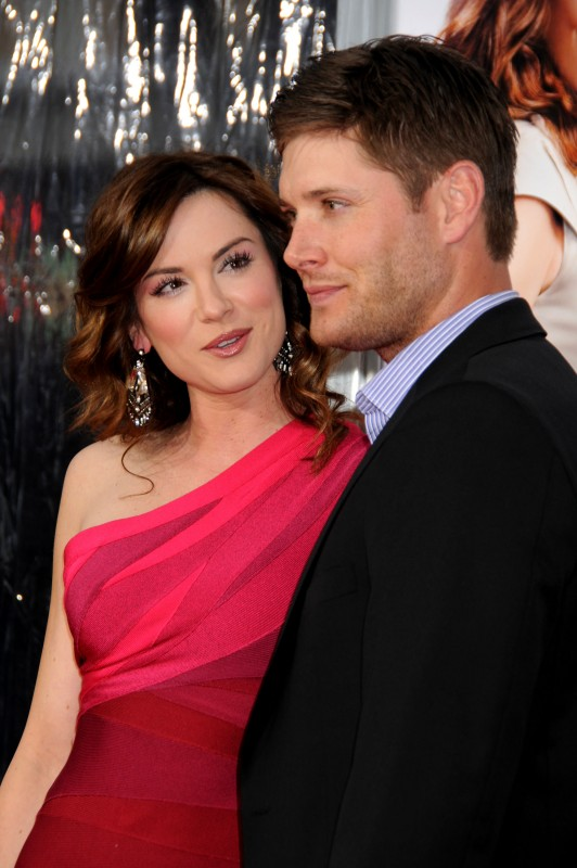 Danneel Harris insieme a Jensen Ackles alla premiere di The Back-Up Plan