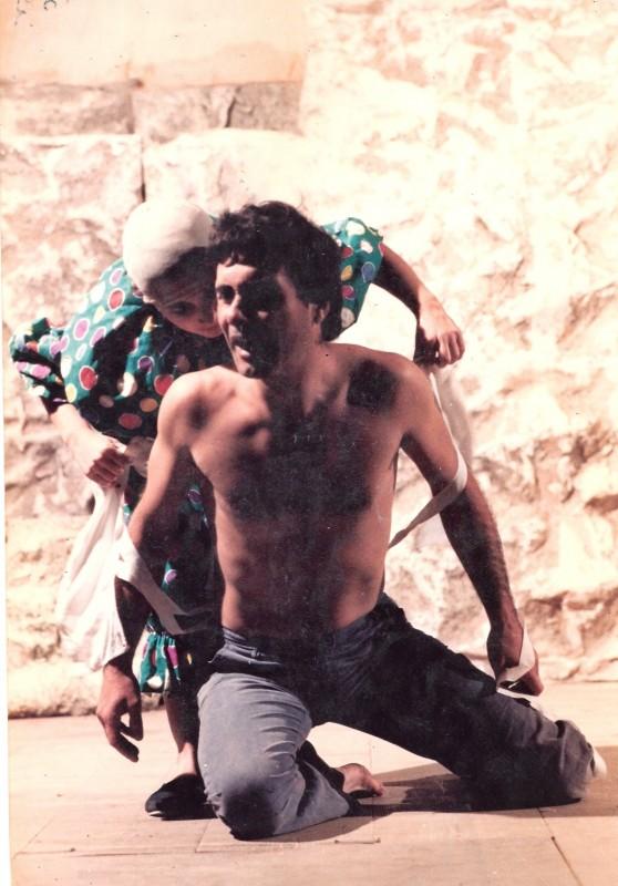 Teatro Carignano (Torino) Antonio Orfanò in scena con Upupa my dream is my rebel king (ph. Achille Le Pera)