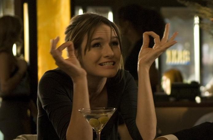 Emily Mortimer in una scena del film City Island