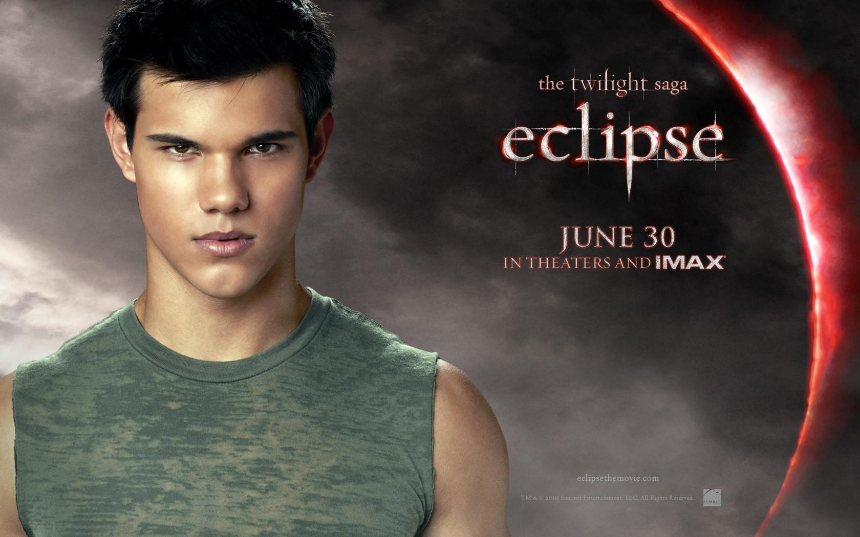 Il wallpaper ufficiale di Jacob (Taylor Lautner) di The Twilight Saga: Eclipse