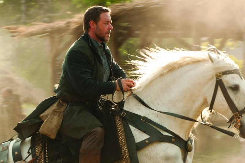 Russell Crowe, protagonista intrepido di Robin Hood