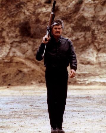 Charles Bronson in una scena de 'Il giustiziere della notte'