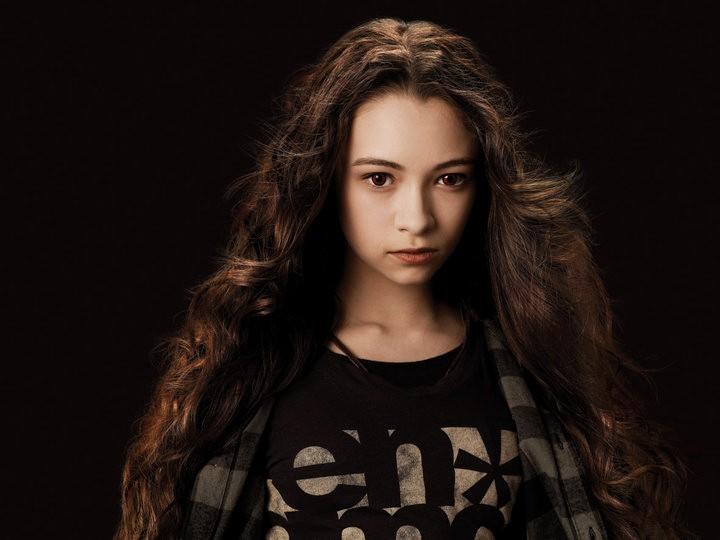 Un'immagine promo di Jodelle Ferland che interpreta Bree nel film The Twilight Saga: Eclipse