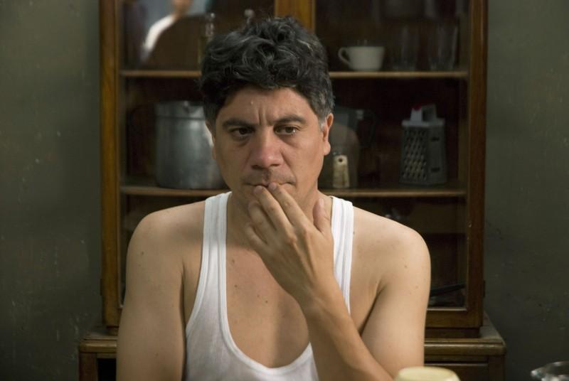 Un'immagine tratta dal film Octubre