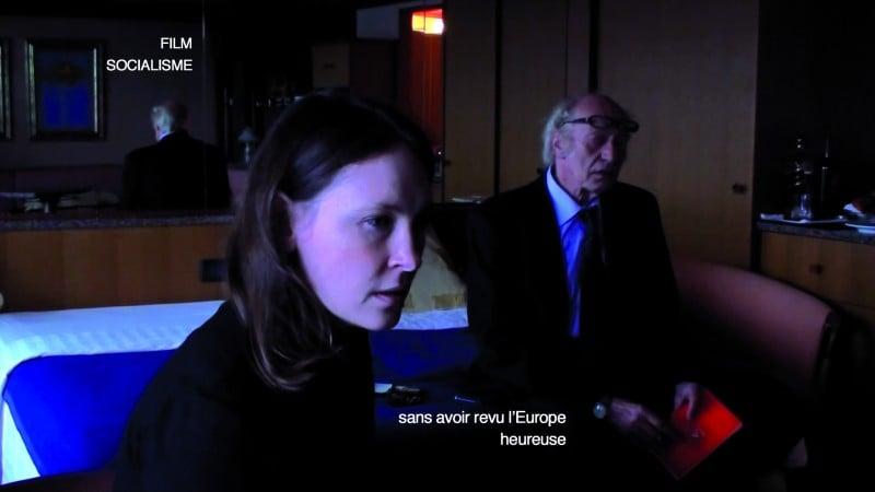 Un momento di Film socialisme di Jean-Luc Godard