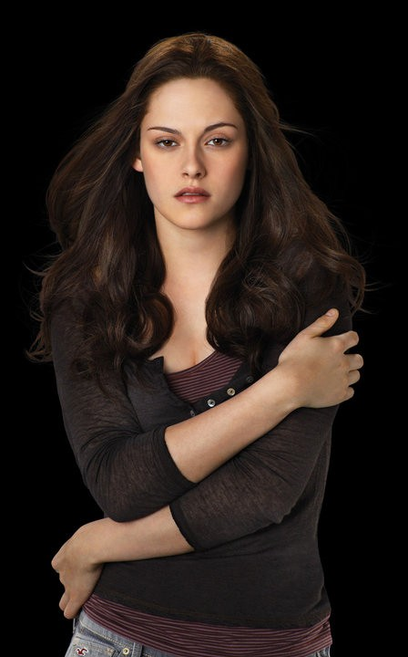 Uno scatto promozionale di Kristen Stewart per il film The Twilight Saga: Eclipse