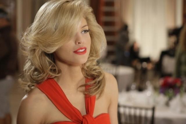 AnnaLynne McCord in una scena dell'episodio Confessions di 90210