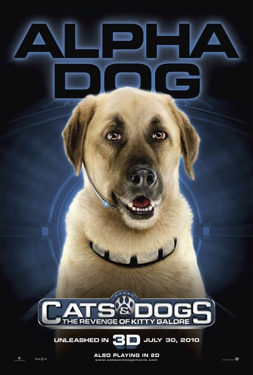 Character Poster (Alpha Dog) per Cats & Dogs: The Revenge of Kitty Galore