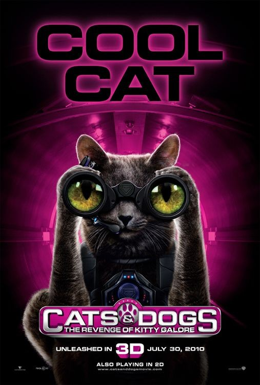 Character Poster (Cool Cat) per Cats & Dogs: The Revenge of Kitty Galore