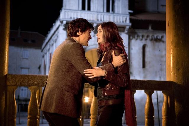 Doctor Who: Matt Smith e Karen Gillan nell'episodio Vampires of Venice