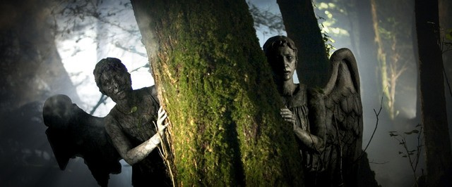 Doctor Who: una scena dell'episodio Flesh and Stone