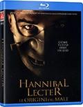 La copertina di Hannibal Lecter - Le origini del male (blu-ray)