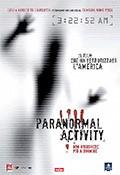 La copertina di Paranormal Activity (dvd)