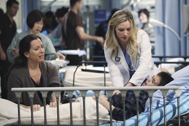 Grey's Anatomy: Chyler Leigh nell'episodio Push