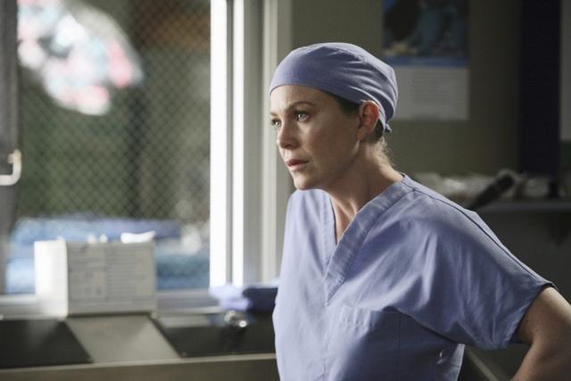 Grey's Anatomy: Ellen Pompeo in una scena dell'episodio Sanctuary