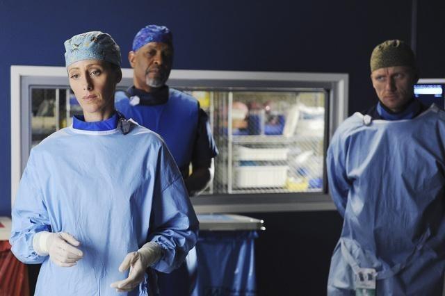 Grey's Anatomy: James Pickens Jr., Kevin McKidd e Kim Raver nell'episodio Shiny Happy People