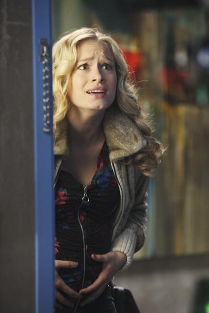 Grey's Anatomy: Leven Rambin in una scena dell'episodio Hook, Line and Sinner