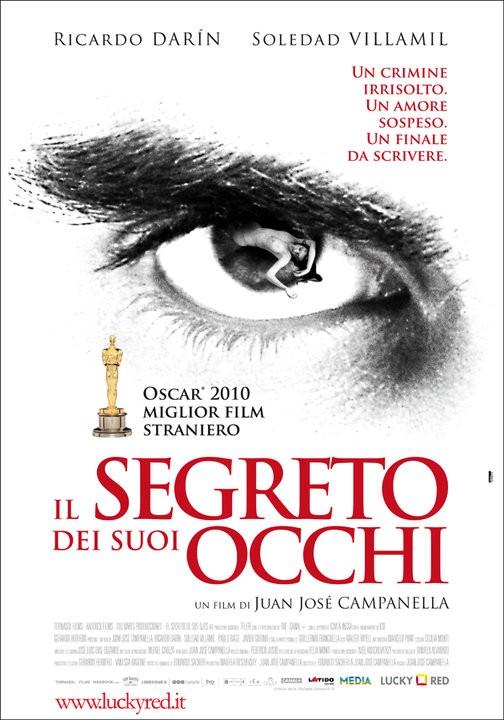 Locandina italiana del film Il segreto dei suoi occhi