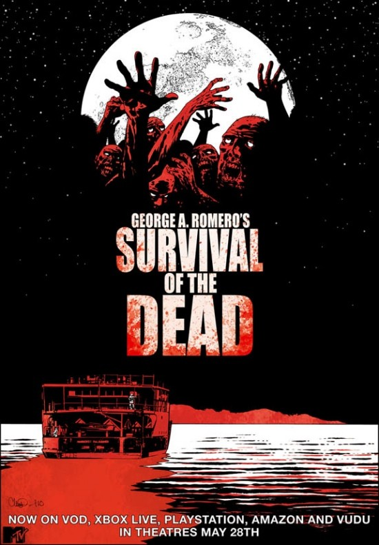 Nuova locandina di Survival of the Dead