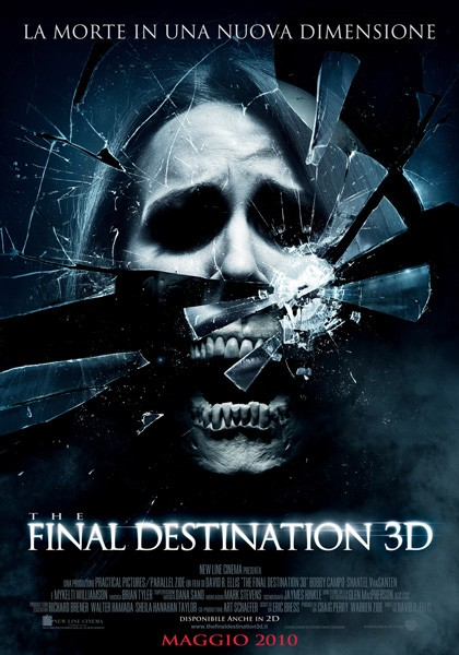 Poster italiano di The Final Destination 3D