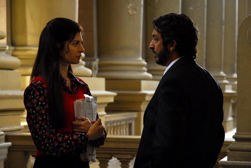 Soledad Villamil e Ricardo Darín in una scena del film Il segreto dei suoi occhi