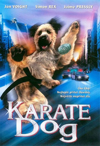 La locandina di The Karate Dog