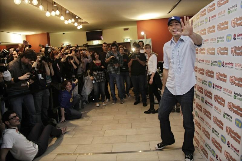 Zachary Levi al photocall del Telefilm Festival 2010