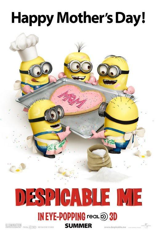 Un poster speciale per la Festa della Mamma di Despicable Me