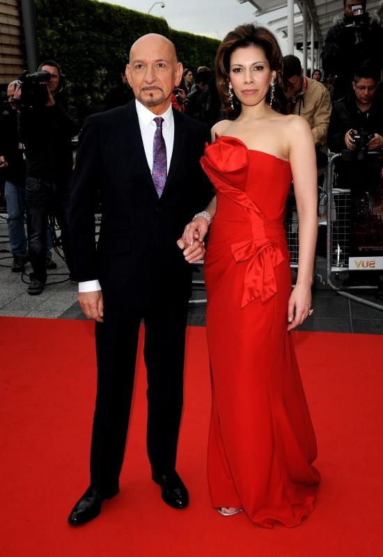 Ben Kingsley e Daniela Lavender presenziano alla premiere mondiale di Prince of Persia: Sands of Time