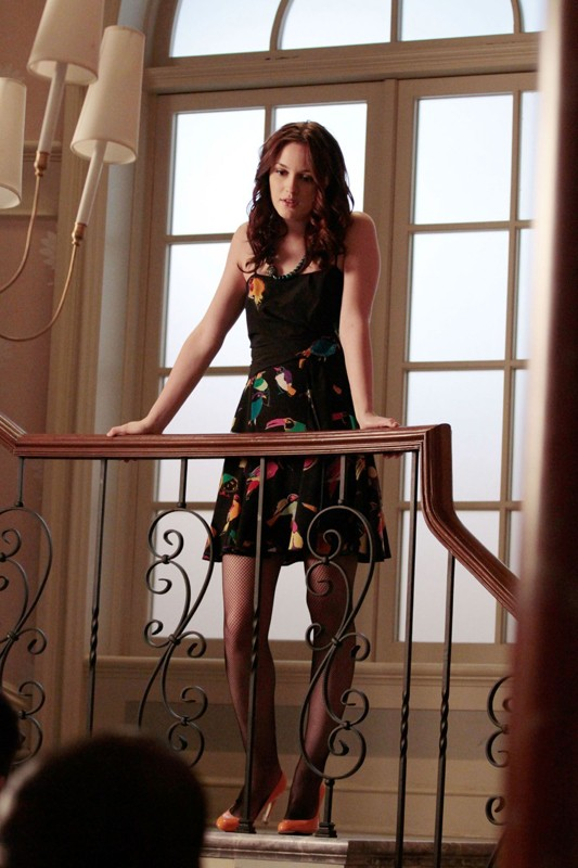 Blair (Leighton Meester) in: Ex-Husbands and Wives di Gossip Girl