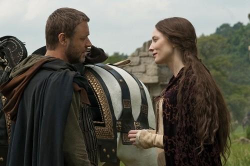 Cate Blanchett e Russell Crowe nel film Robin Hood (2010)