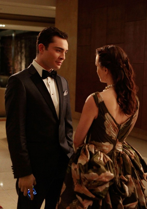 Chuck (Ed Westwick) cerca di riconcigliarsi con Blair (Leighton Meester) nell'episodio Ex-Husbands and Wives di Gossip Girl