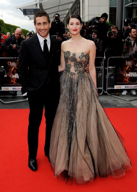 Jake Gyllenhaal e Gemma Arterton, protagonisti di Prince of Persia: Le Sabbie del Tempo, alla premiere mondiale di Londra