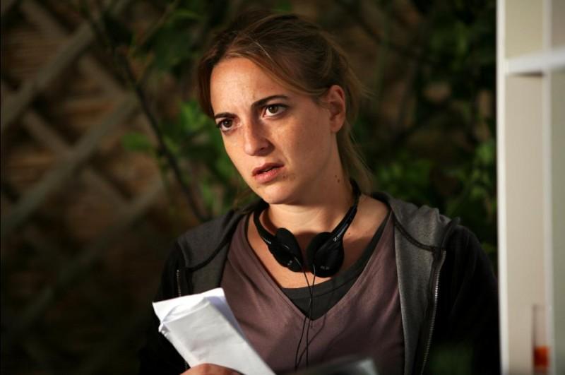 La regista Isotta Toso sul set del suo film Scontro di civiltà per un ascensore a Piazza Vittorio