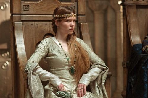 Léa Seydoux in una scena di Robin Hood