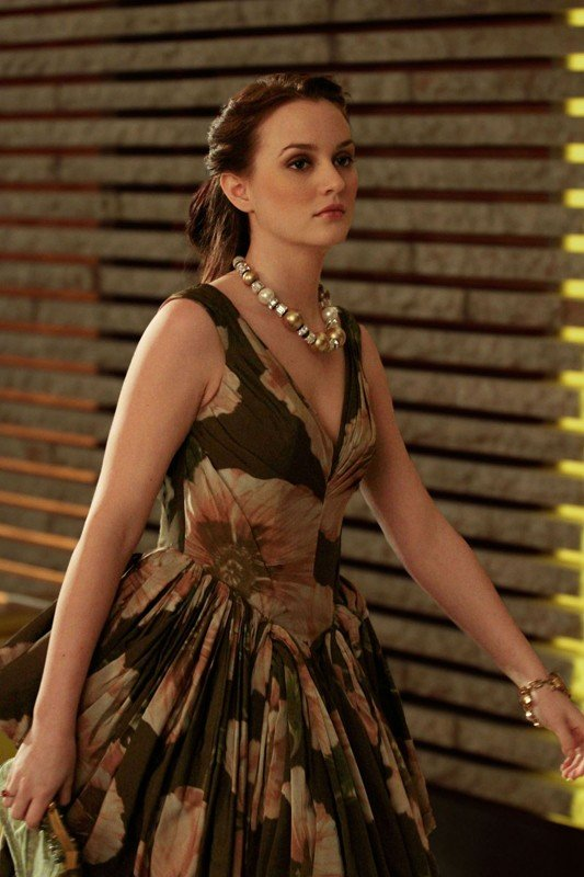 Leighton Meester in un momento dell'episodio Ex-Husbands and Wives di Gossip Girl