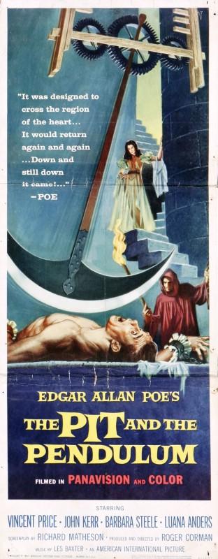 Locandina dell\'horror Il pozzo e il pendolo