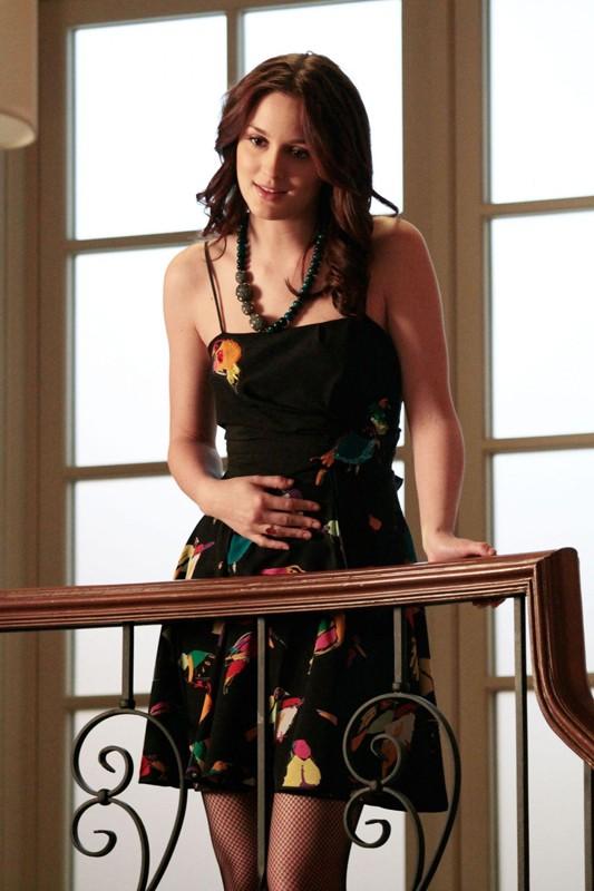 Un momento dell'episodio Ex-Husbands and Wives di Gossip Girl con Leighton Meester