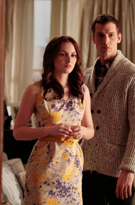 Una scena dell'episodio Ex-Husbands and Wives di Gossip Girl con Leighton Meester e Ben Yannette
