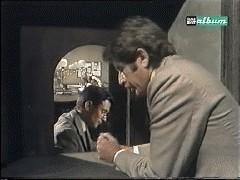 Antonio Orfanò con Corrado Pani nel film Bel Ami, regia di Sandro Bolchi