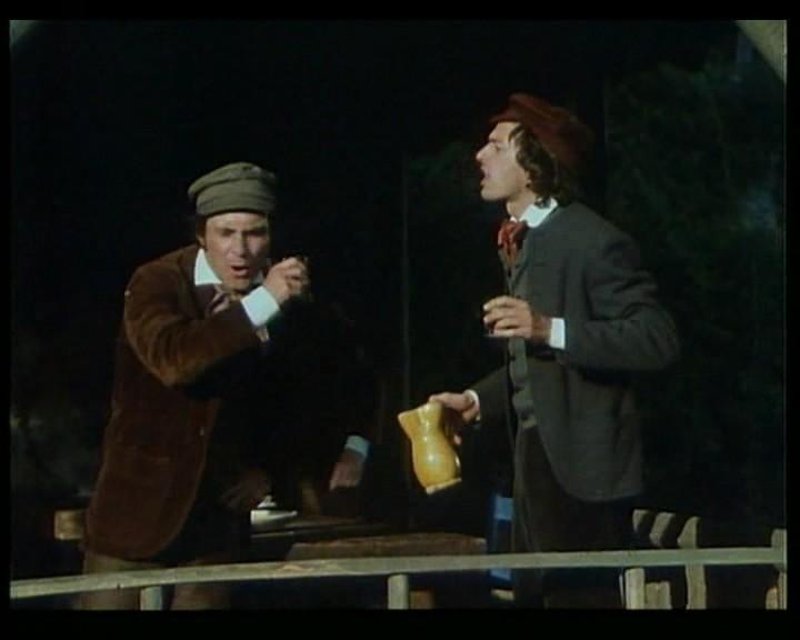 Antonio Orfanò in una scena del film Verdi regia di R. Castellani