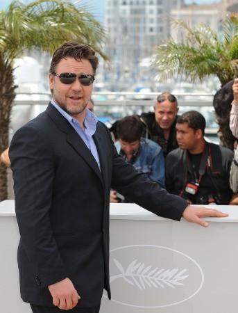 Cannes 2010: Russell Crowe presenta Robin Hood di Ridley Scott