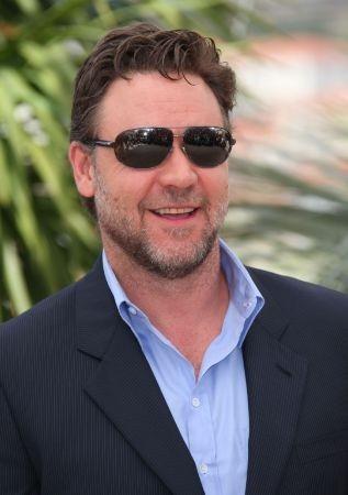 Cannes 2010: un primo piano di Russell Crowe, protagonista di Robin Hood di Ridley Scott