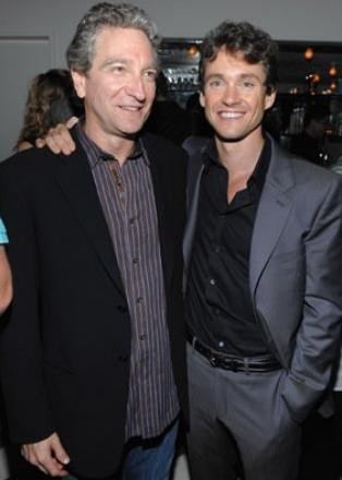 Hugh Dancy e il regista Max Mayer alla premiere del film Adam