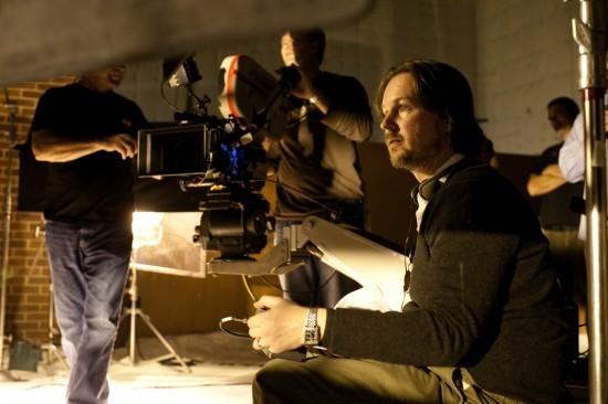 Il regista Matt Reeves sul set di Let Me In